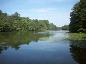 Smithville Lake in September