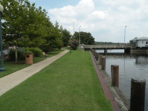 View of the Riverwalk looking East