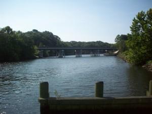 The Federalsburg Marina is near the MD Rt-313/318 bridge over the Marshyhope Creek.
