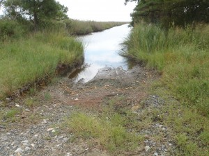 Langrells Creek offers a soft landing for paddlers.