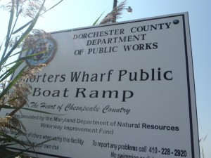 Shorters Wharf Sign