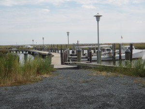 The Public Landing also features a marina, with slips available, for a fee.