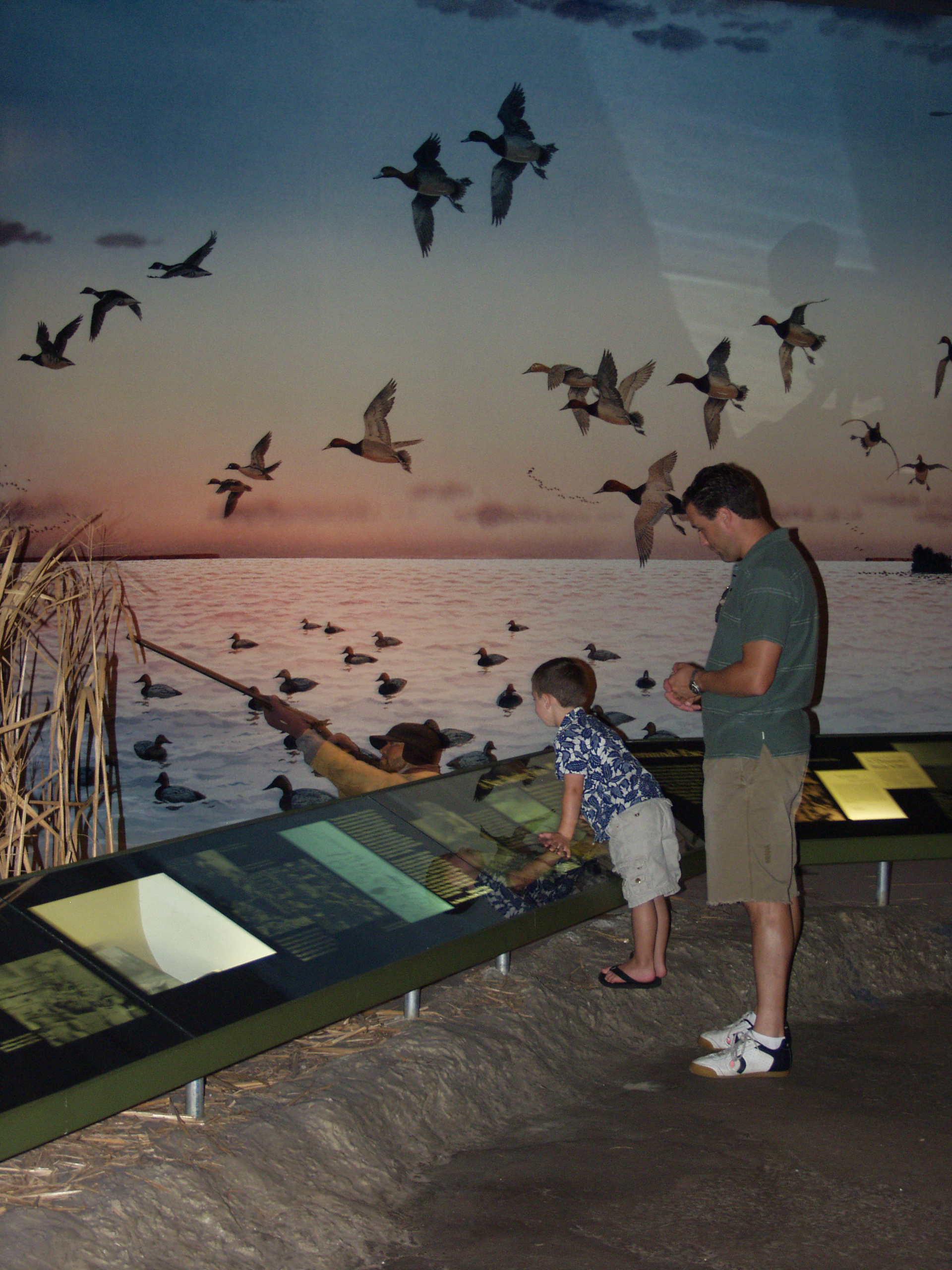 Family visiting Ward Museum - photo courtesy of Wicomico County Tourism