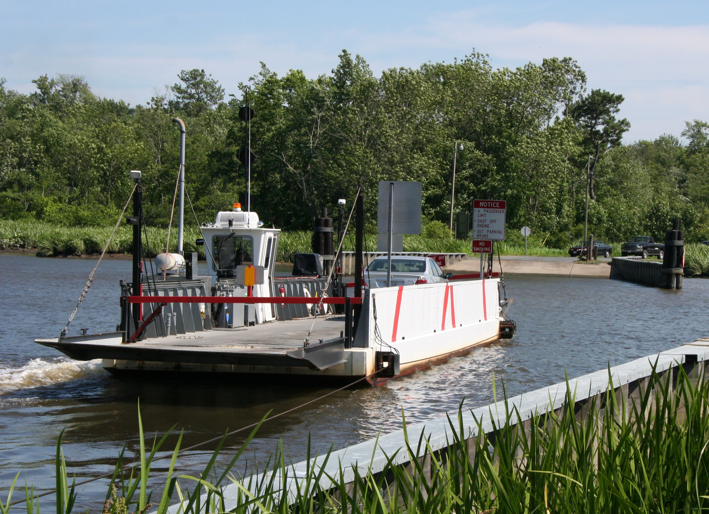 Whitehaven Ferry, 2007 - photo courtesy of Wicomico County Tourism