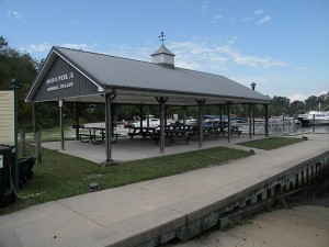 Pavilion at the Nanticoke River Marina Park
